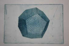 Dodecahedron - drypoint and aquatint