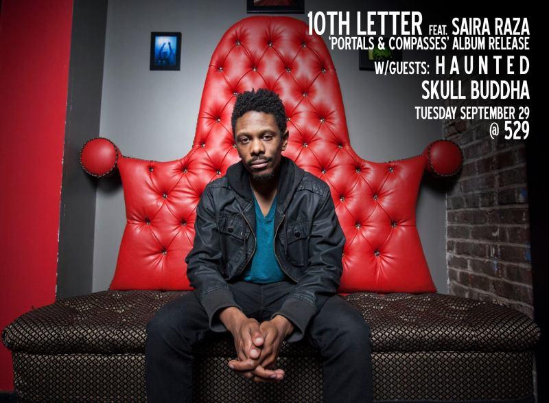 10th letter album release promo